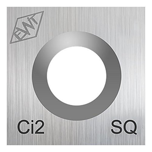 Authentic Easy Wood Tools Ci2-SQ Square Carbide Replacement Cutter for Easy Start, Mini and Mid Midi Roughers Lathe Woodturning Tools Ci2-SQ
