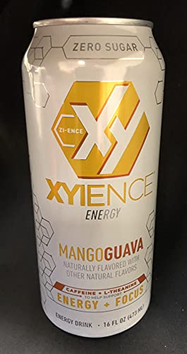 Xyience Energy Mango Guava, 16 Ounce (16 Cans)
