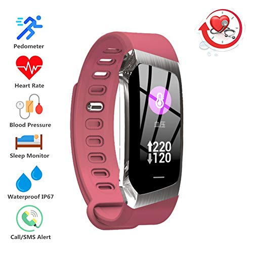 Fitness Trackers IP67 Waterproof Smart Watch for Sports, Heart Rate, Blood Pressure, Calories, Pedometer, The Best Gift for Women/Men/Children,A3