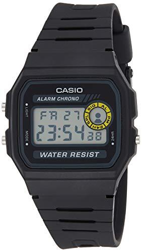 Relógio Masculino Casio Digital F-94WA-8DG - Preto
