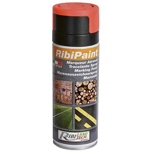 Ribimex PRSMARR Marcatore spray rosso, 24x4.5x4.5 cm