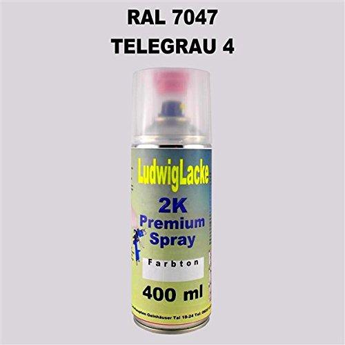 Ludwig Lacke RAL 7047 Telegrau 4 2K Premium Spray 400ml