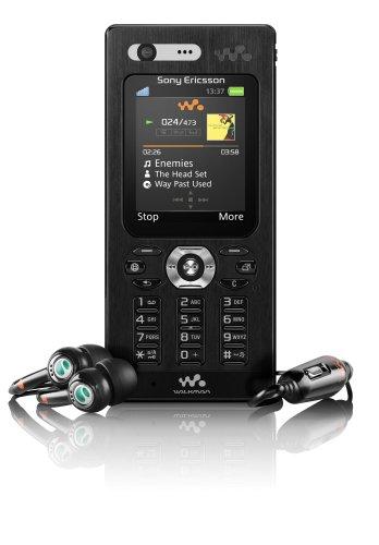Sony Ericsson W880i Pitch Black UMTS Handy