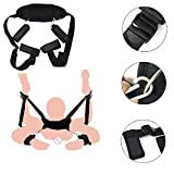 Durable Tight Body Straps for Women,Ankle Wrist Nylon Cuffs Set with Neck Pad