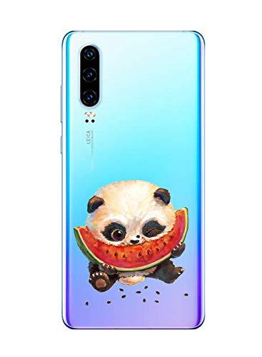 Suhctup Funda Compatible con Huawei Honor 6X Transparent,Carcasa Protección Silicona Gel TPU Bumper Moda Dibujos Protector Piel Ultra Pulgadas Anti Choques Estuche Case para Huawei Honor 6X(9)