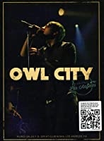 Owl City: Live from Los Angeles [DVD] [Import]