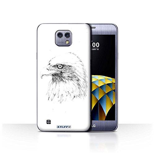 Var voor LGS-CC Schetstekening LG X Cam/K580 Adelaar/Vogel
