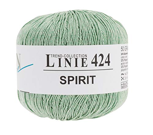 ONline Wolle Spirit, 4-fädig, 50g, ca. 210m Farngrün, Farbe 06