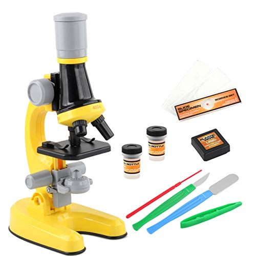 oftenrain Talking Microscope Upgraded Kids Microscope 100X/400X /1200X Science Experiment Toy, Easter Gift, Microscope for Kids, & Science Toy, Interactive Learning, Ages 4+