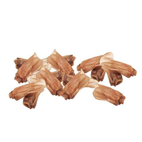 Snack Deshidratado para Perros - Orejas de Ternera - Bolsa de 500 gr - 15 Uds. Aprox. -...