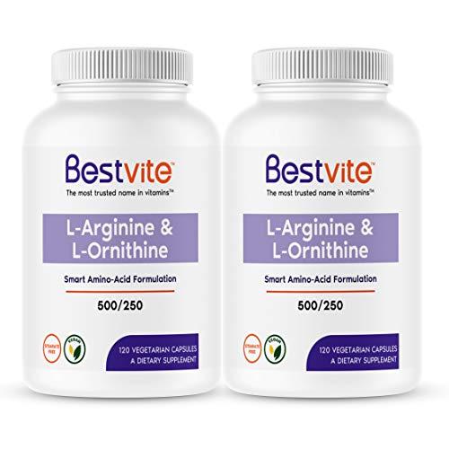 of fenugreek capsules dec 2021 theres one clear winner L-Arginine L-Ornithine 500-250 (240 Vegetarian Capsules) (120 x 2) - No Stearates - No Fillers - Vegan - Non GMO - Gluten Free - No Calcium Silicate