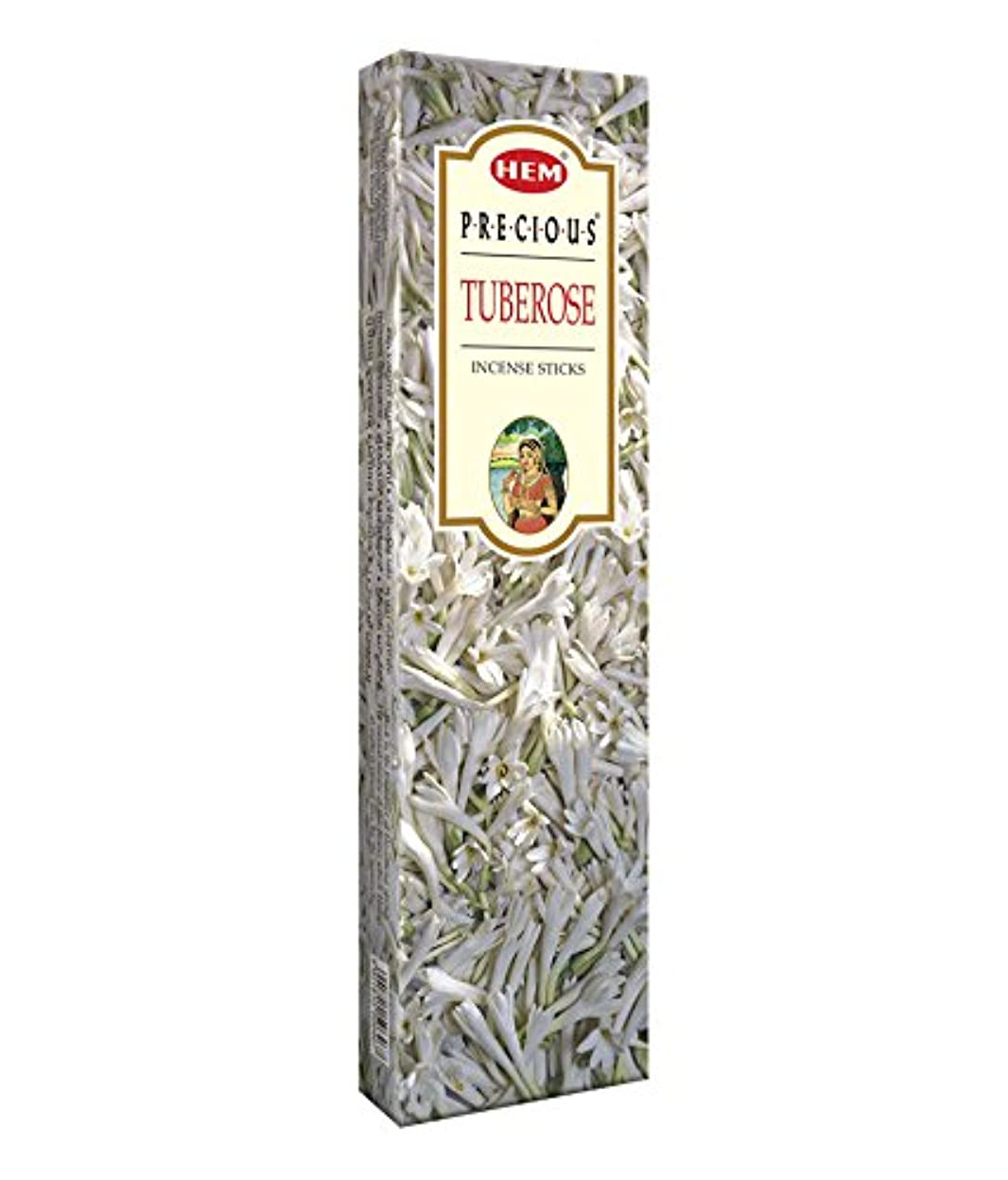 パラダイス荒廃する多用途Agarbathi Fragrance Hem Precious Tuberose 100?g INCENSE STICKS