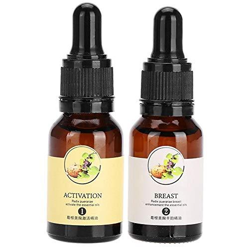BLLBOO 15ml Brustvergrößerung wesentlich Öl-natürliche Extrakte Breast Firming Lifting Oil