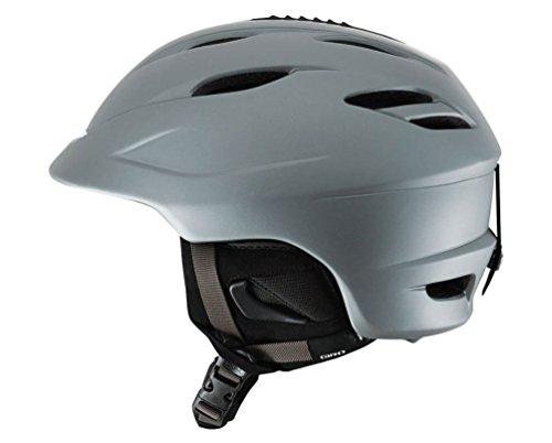 Giro Seam Snowboard Ski Helmet Matte Black Laser Tag Medium