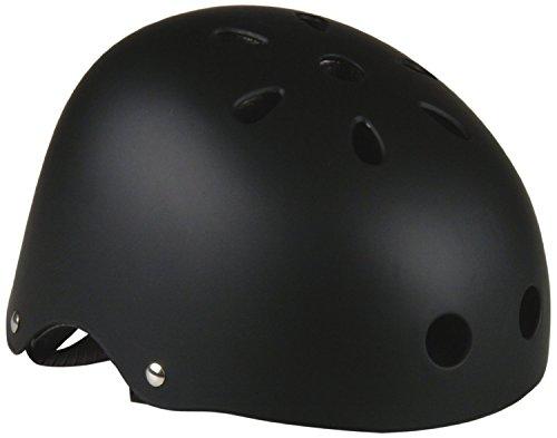 Prophete Kinder Skater-Helm ohne Dekor, schwarz/ braun,  54-60 cm (S/M) , 940