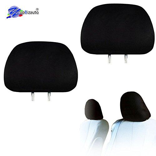 monogram headrest covers - 2