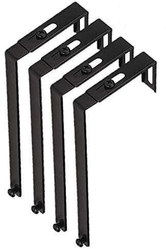 1InTheOffice Cubicle Hangers, Adjustable, 4/Pack