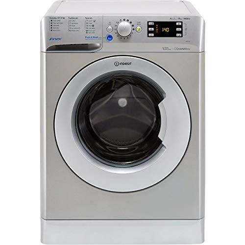 Indesit BWE91484XSUK 9 Kilogram Washing Machine with 1400 rpm Silver