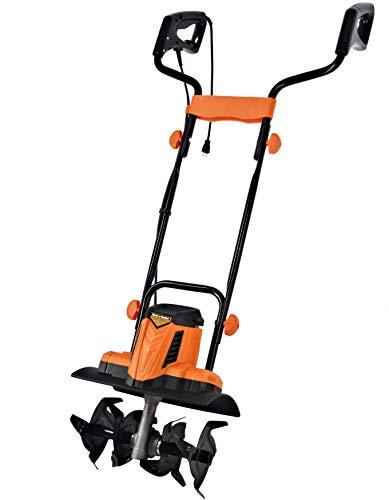 大竹産業 Home&Garden 電動耕うん機 しっかり耕す ハイパワー 800W オレンジ