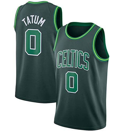WSWZ Camiseta NBA Boston Celtics 0# Jayson Tatum Camisetas De Baloncesto para Hombre NBA Chalecos Cómodos Casuales Camisetas Deportivas Camisetas Sin Mangas,S(165~170CM/50~65KG)