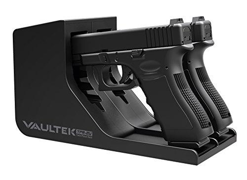 Vaultek Modular Pistol Rack Non-Absorbent Foam Dual Handgun Storage (Universal Pistol Rack)