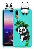 3C Collection Huawei Honor 9 Lite Panda Case, 3D Cartoon