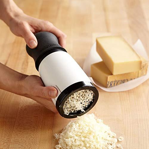 Rallador de queso, Rallador rotativo manual, Cortadores de queso, Cortadora de vegetales para el hogar Chopper Cocina Herramienta de mano Molinillo, Rallador de alimentos Rallador de queso