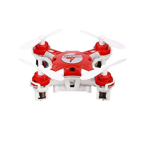 Swiftswan Per FQ777 124 2.4G 4CH Giroscopio a Sei Assi Mini Drone 360 Gradi di Vibrazione in modalità Senza Testa Ritorno a Una Chiave RC Pocket Quadcopter RTF con Luce