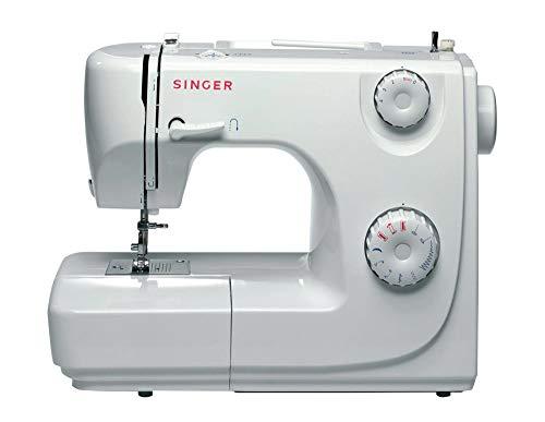 Singer 8280 Automatische Nähmaschine, 4Stufen, variable Stichbreite, Rückwärtsnähgang, Weiß