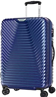American Tourister SkyCove Hardside Spinner Luggage 68cm with tsa lock - Blue