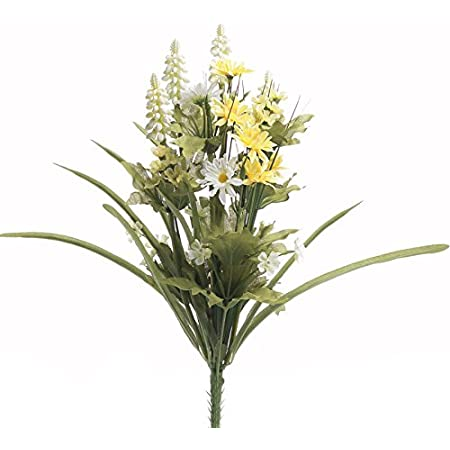 Details about  /Factory Direct Craft Colorful Artificial Wildflower and Fern Bouquet