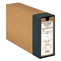 Globe-Weis Binding Case for Document Storage Note Size Regular Arch Brown B49BC