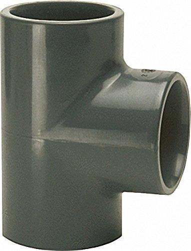 PVC-U - Klebefitting T-Stück- 40mm- allseitig Klebemuffe
