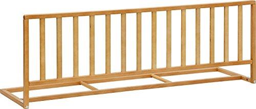 IB-Style - Hochwertiges Bettschutzgitter Pino Bettgitter Holz Buche lackiert - Länge 120 cm - Höhe 42 cm