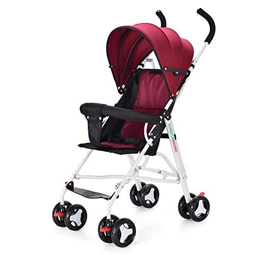 Herxy Buggys Leichter Kinderwagen - kinderbuggy - Kindersportwagen - Babywagen - Kombikinderwagen - Regenschirm für Kinderwagen - Vollständige Neigung - Maxi-Belastung Von 7-36 Monaten 25 kg