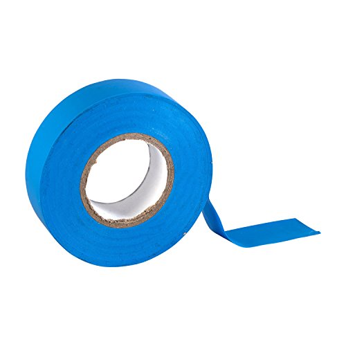 Gocableties blaues PVC-Elektroisolierband, 20 m x 19 mm, hohe Qualität, Starke Rolle