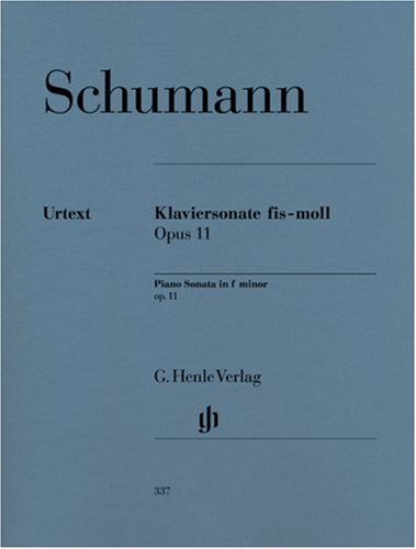 Sonate Fis-Moll Op 11. Klavier