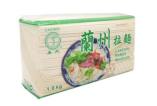 CHUNSI Chinese Noodles, Dried noodles Lanzhou Ramen Style 1800g