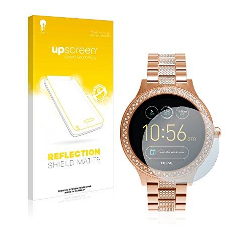 upscreen Entspiegelungs-Schutzfolie kompatibel mit Fossil Q Venture/Q Venture (3.Gen) – Anti-Reflex Bildschirmschutz-Folie Matt