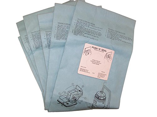 BISSELL BigGreen Commercial BG332844 Disposable Bags for BG-CC28 28' ComVac Wide Area Vacuum