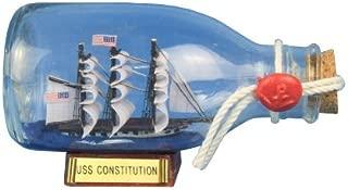 Hampton Nautical USS Constitution Ship in a Glass Bottle, 5