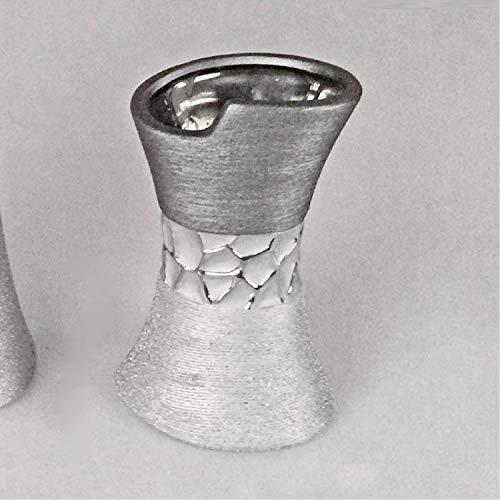 Formano Vase Silber-grau 11 x 20 cm 739865
