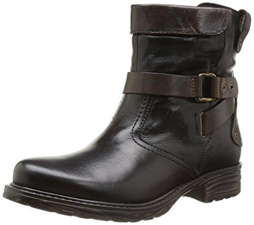 Tamaris Damen 25467 Bootsschuh, Mehrfarbig (Black/Cafe 17), 37 EU
