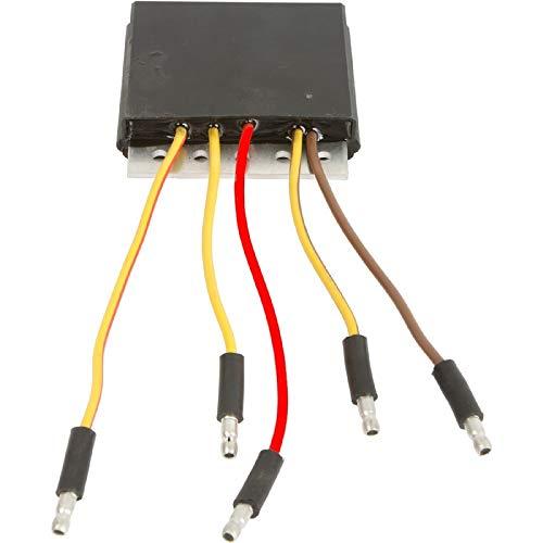 DB Electrical APO6002 New Voltage Regulator For Polaris 325 Magnum, 425 Xpedition, 400 Xplorer, 500 Ranger, Sportsman 335, Trail Boss 325, Worker 335, Atv Ranger ESP2099 2205046 4060191 46-3917