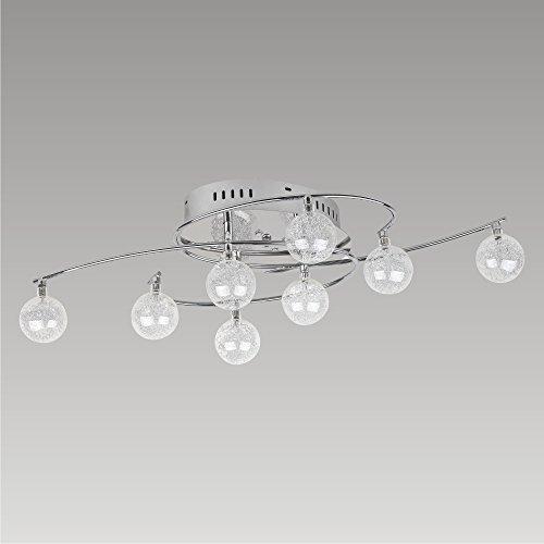 Moderna Lámpara de techo 8x 20W/G4Chicago 65202prezent