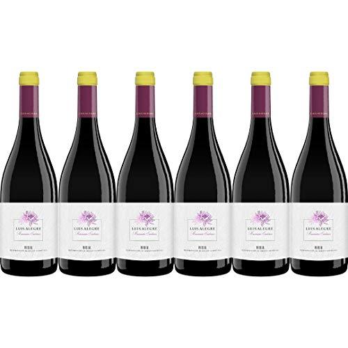 Luis Alegre Vino Tinto Maceración Carbónica - 6 Botellas - 4500 ml
