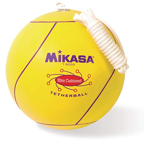 teather ball rules Mikasa Sports Tetherball, Ultra Cushioned - Yellow