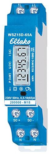 Eltako WSZ15D-65A Wechselstromzähler MID, 230 V