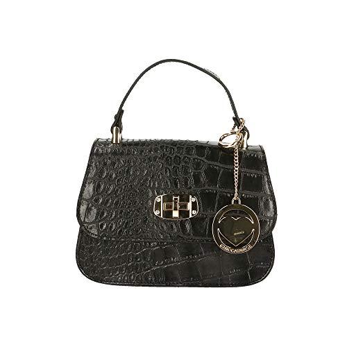 Chicca Borse Bag Borsetta a Mano in Pelle Made in Italy 20x15x8 cm