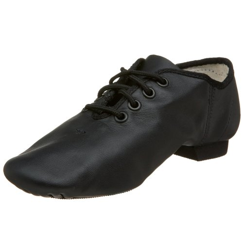 Capezio Little Kid/Big Kid u0022Eu0022 Series EJ1C Jazz Oxford,Black,12.5 W US Little Kid